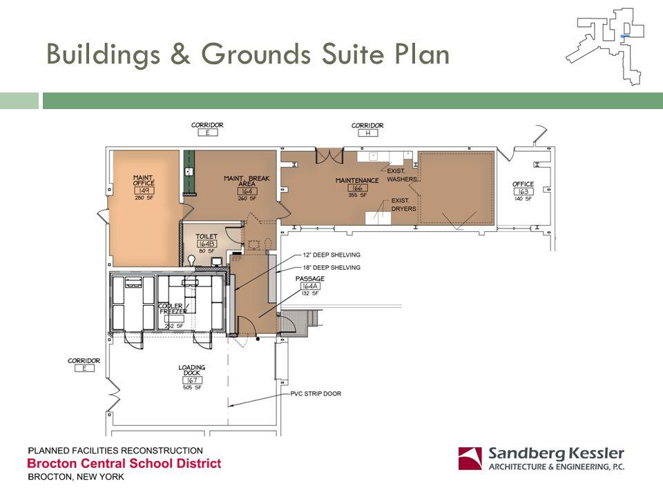 Buildings & Grounds Suite Plan