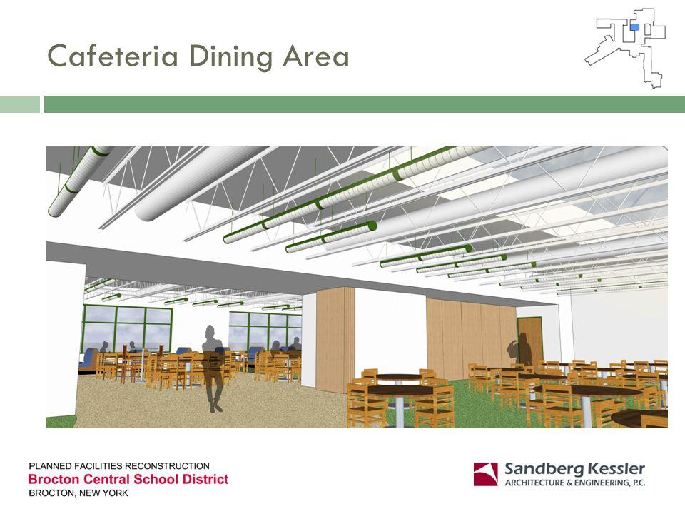 Cafeteria Dining Area