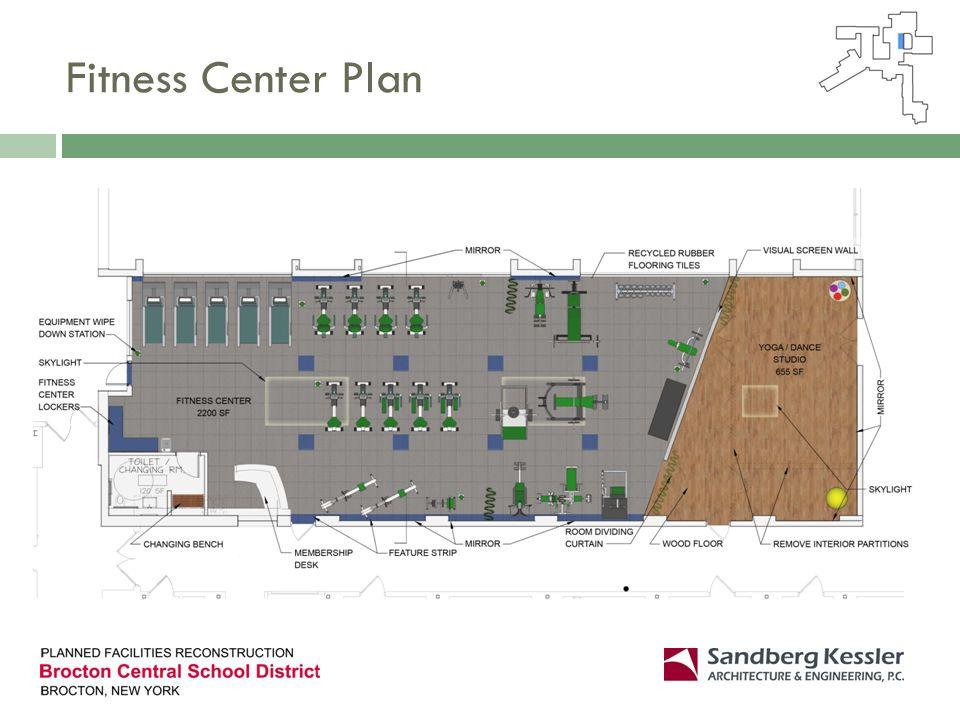 Fitness Center Plan