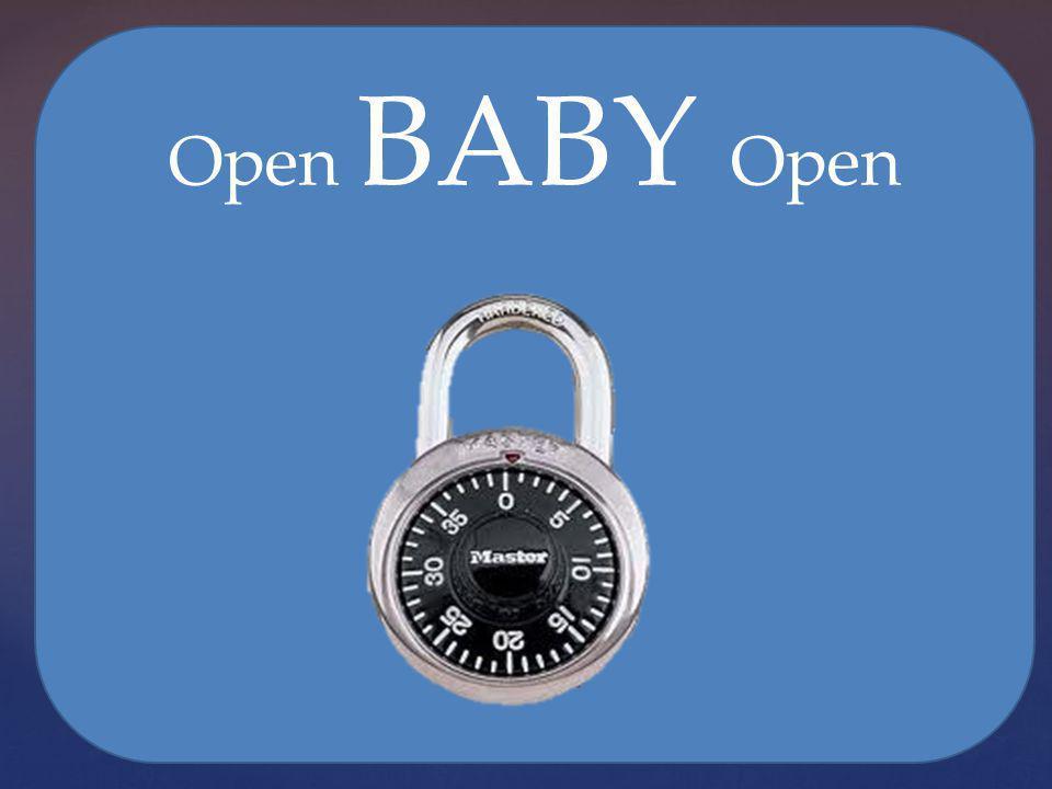 Open BABY Open