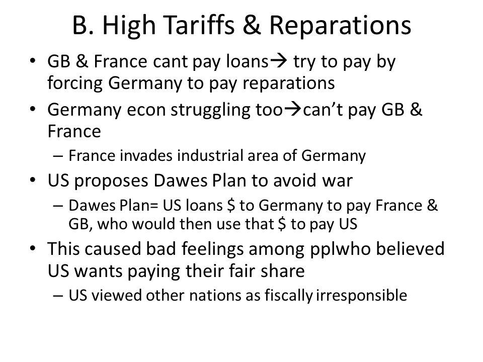 II Limiting Immigration A.