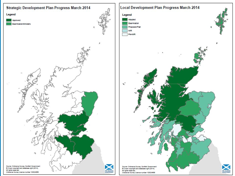 Insert maps of DP Progress
