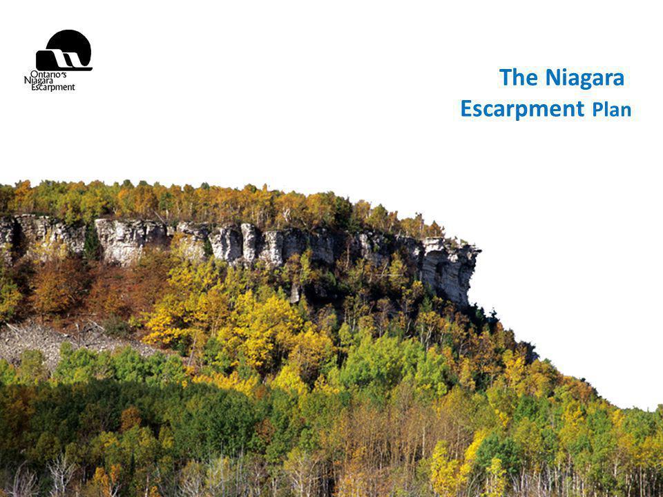 October 2, 2009 The Niagara Escarpment Plan