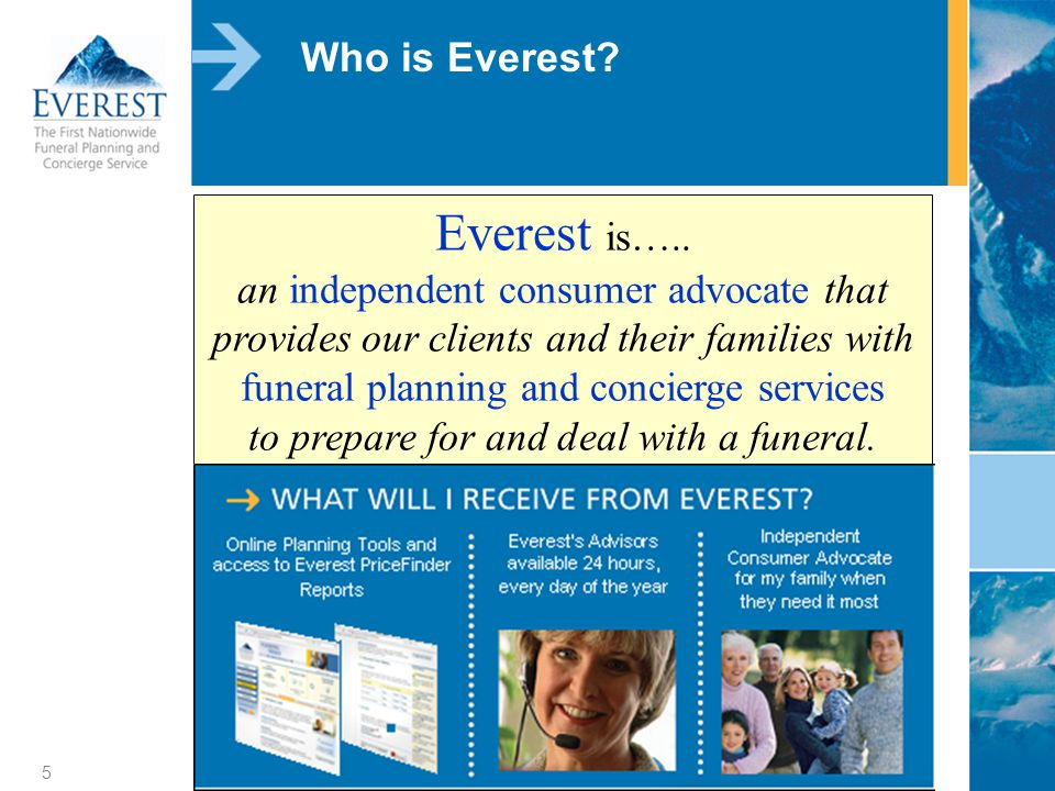 5 Who is Everest. Everest is…..