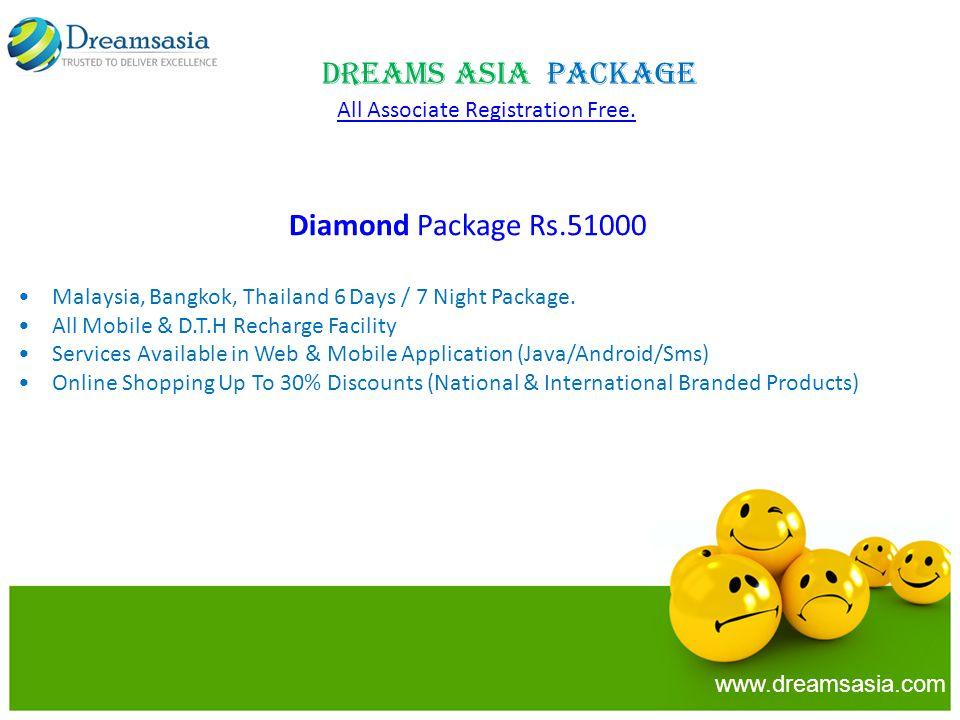 Diamond Package Rs.51000 Malaysia, Bangkok, Thailand 6 Days / 7 Night Package.