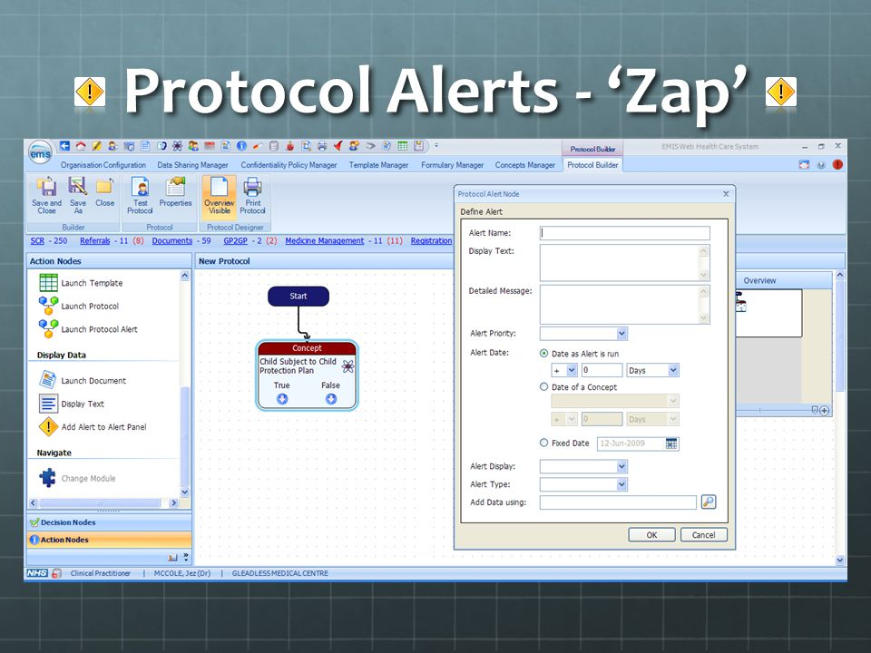 Protocol Alerts - Zap