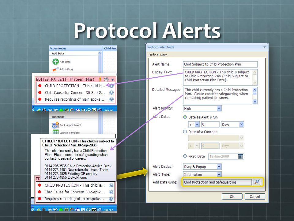 Protocol Alerts