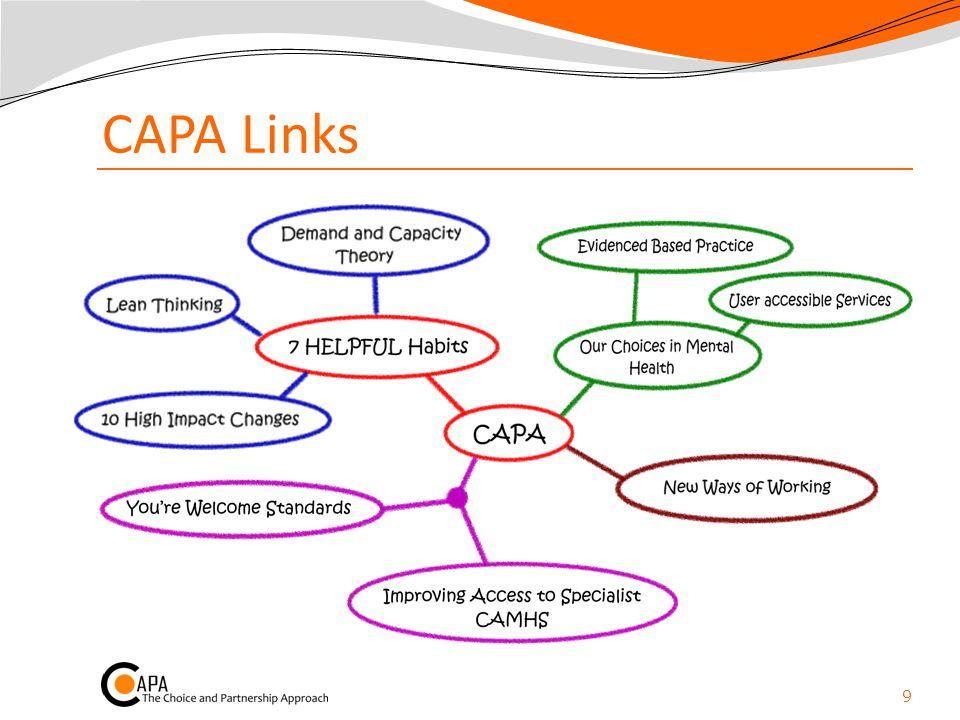 Capacity for Core Partnership.