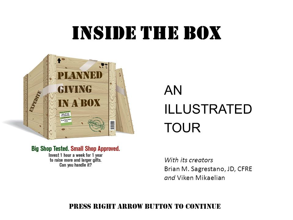 INSIDE THE BOX AN ILLUSTRATED TOUR With its creators Brian M.