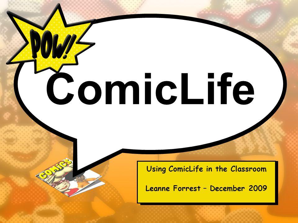 Why Comics.