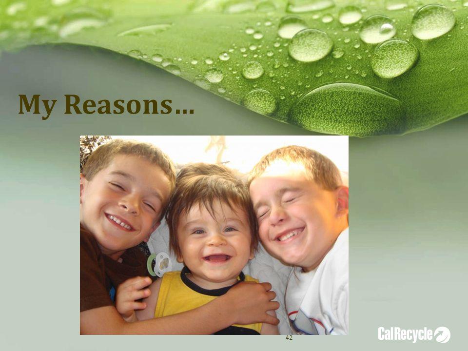 My Reasons… 42