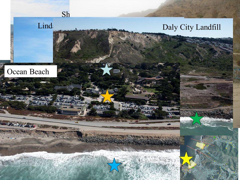 How the Critical Erosion Areas Look Sharp Park Daly City Linda Mar Daly City Landfill Ocean Beach