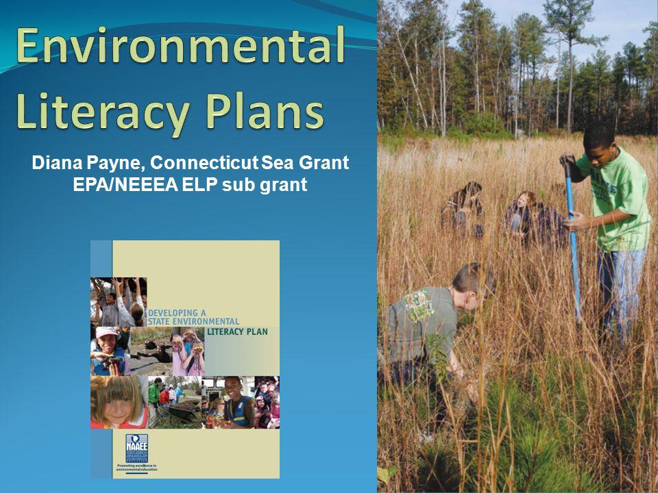 Diana Payne, Connecticut Sea Grant EPA/NEEEA ELP sub grant