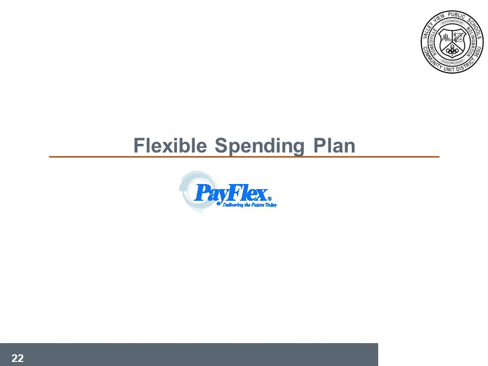 22 Flexible Spending Plan
