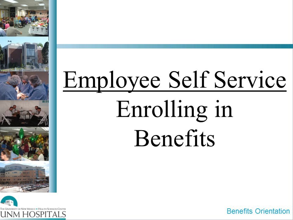 Employee Self Service Enrolling in Benefits