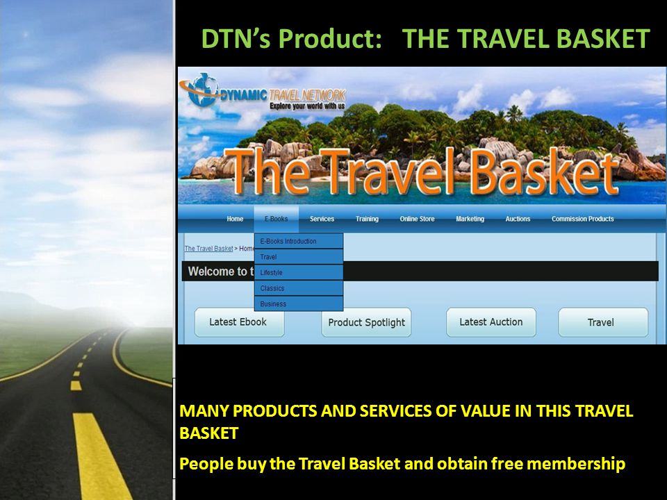 Monthly 7% of members R300 in 5 levels placed into the DTN TRAVEL CARD.