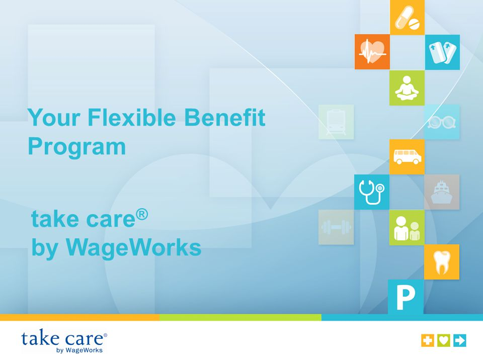 Your Flexible Benefit Program take care ® by WageWorks