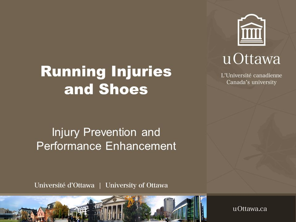 Running Injuries and Shoes Injury Prevention and Performance Enhancement