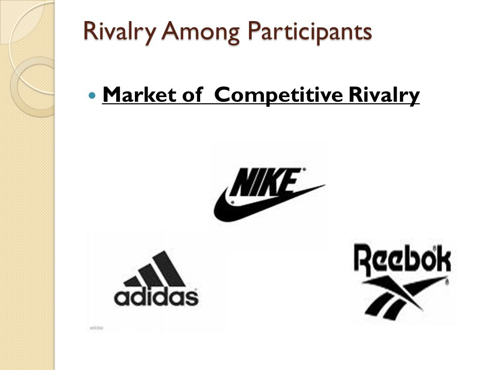 Rivalry Among Participants Market of Competitive Rivalry
