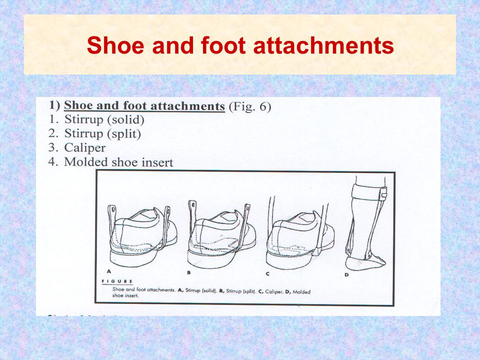 Shoe and foot attachments