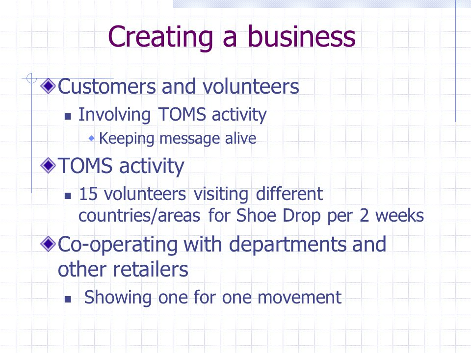 Application question 2 What can a business that wants to operate in a socially conscious manner, but doesnt have the mission and business model that emphasizes social consciousness or philanthropy to the extent that TOMS does, learn from TOMSs experiences?