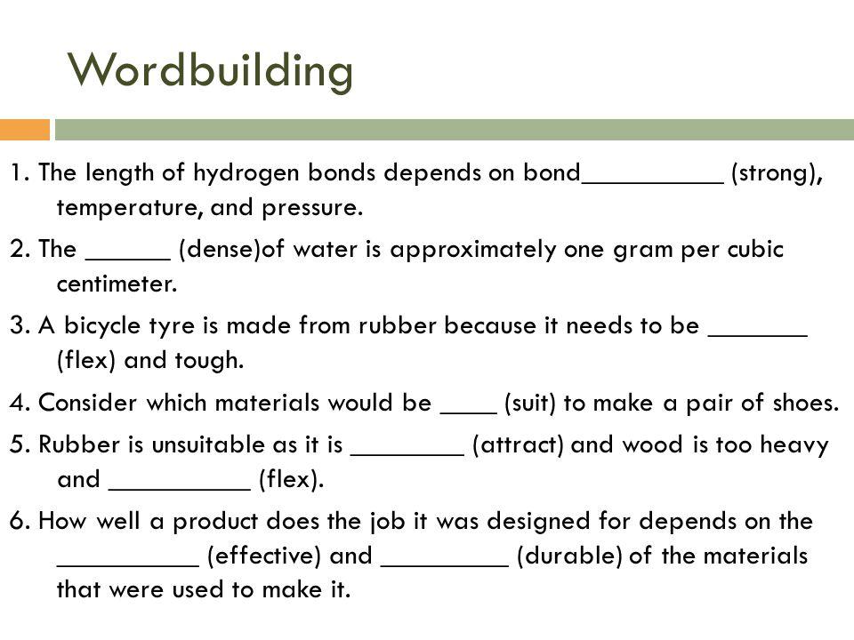 Wordbuilding 1.