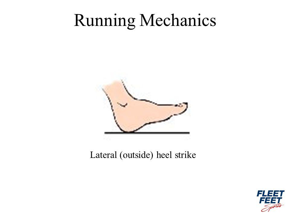 Lateral (outside) heel strike Running Mechanics