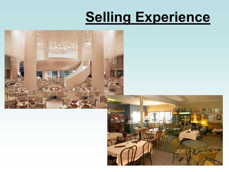 Selling Experience