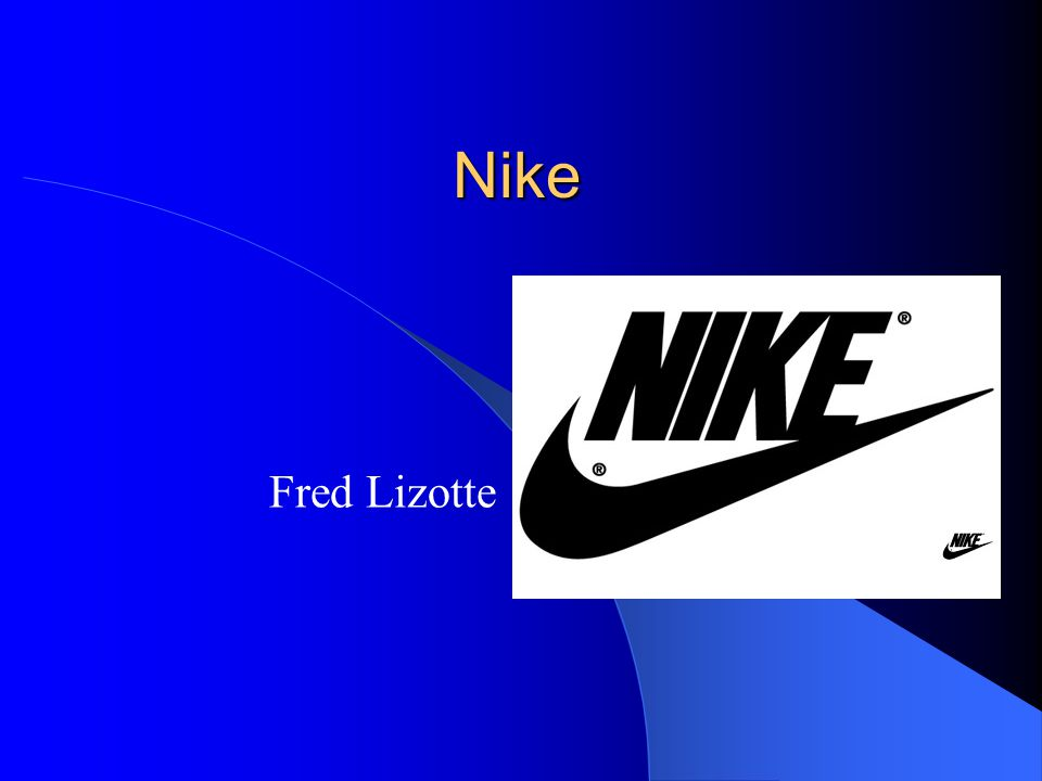 Nike Fred Lizotte