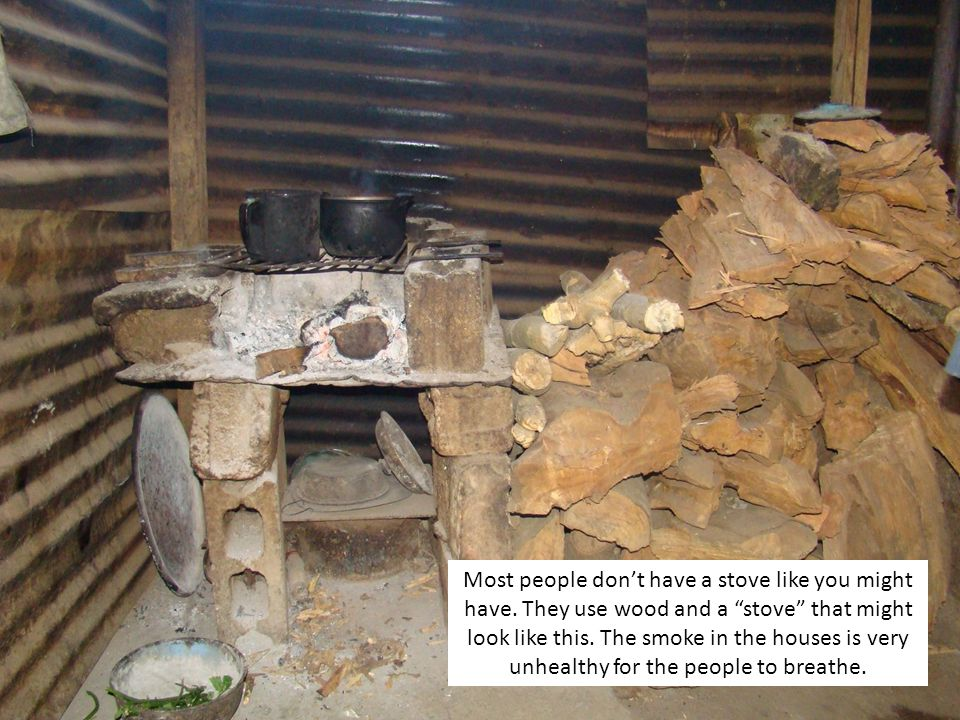 Most people dont have a stove like you might have.