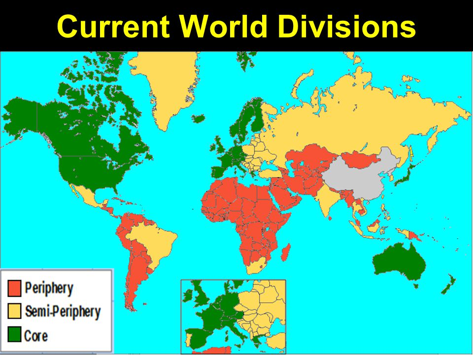 Current World Divisions