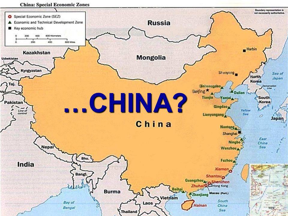 …CHINA?