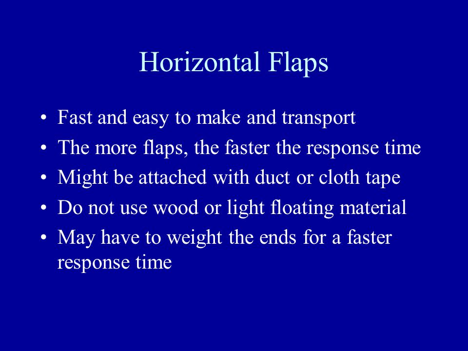 Vertical Flaps