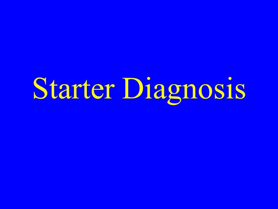 Starter Diagnosis