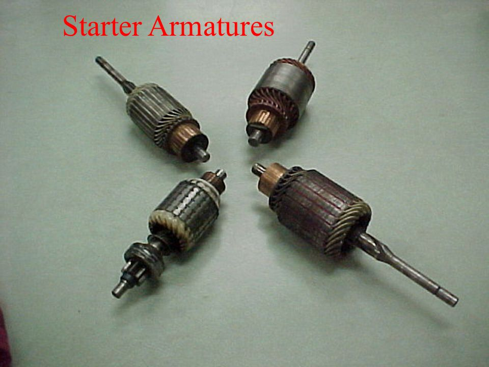 Starter Armatures