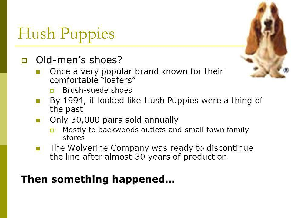 Hush Puppies Old-mens shoes.