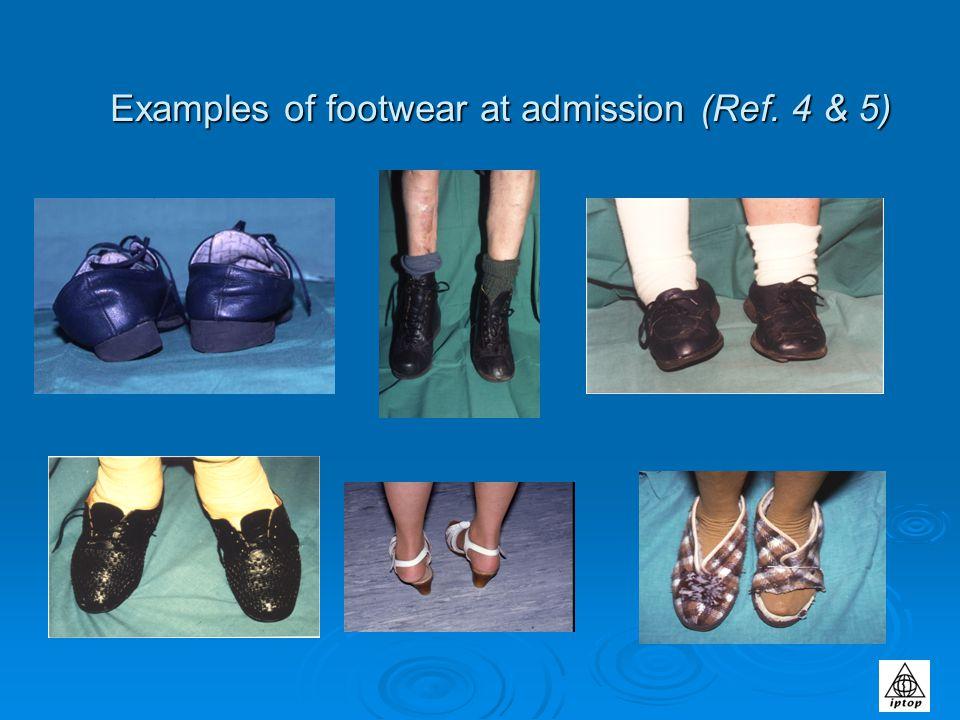 Footwear References Footwear References 1, Nuffield Health Journal (1996.