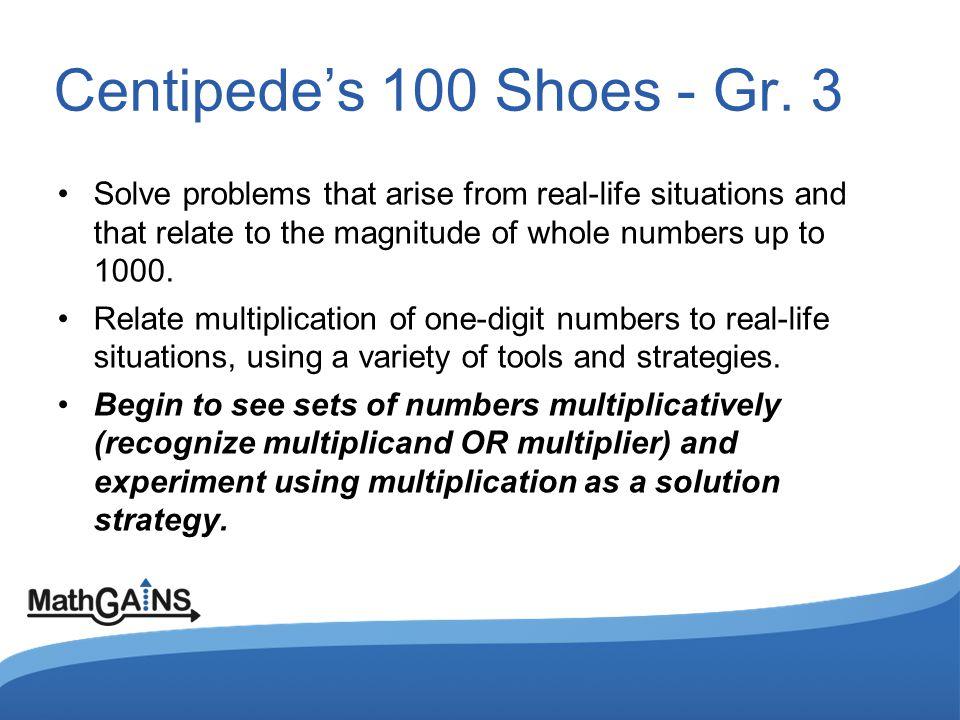 Centipedes 100 Shoes - Gr.