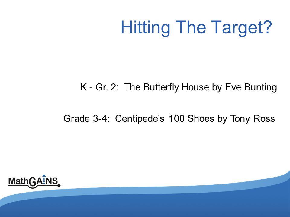 Hitting The Target. K - Gr.