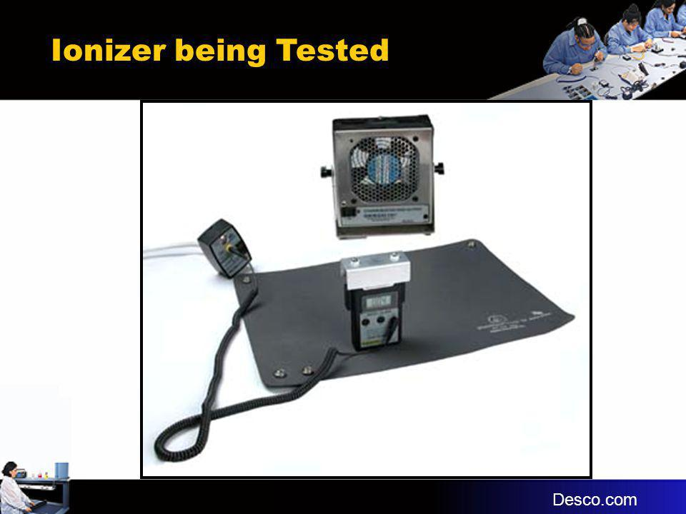 Ionizer being Tested