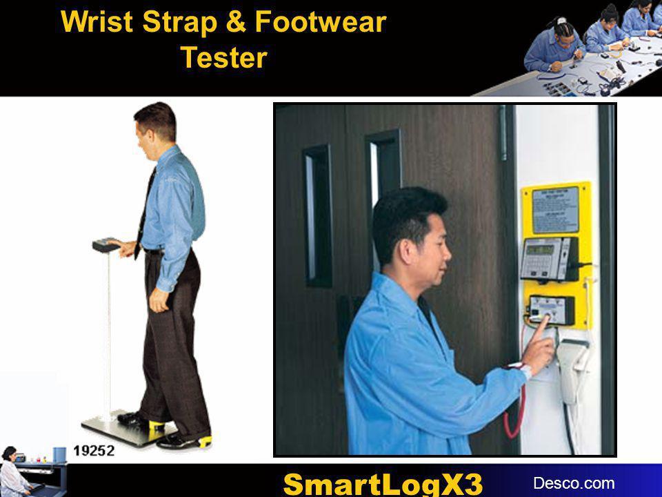 Wrist Strap & Footwear Tester SmartLogX3
