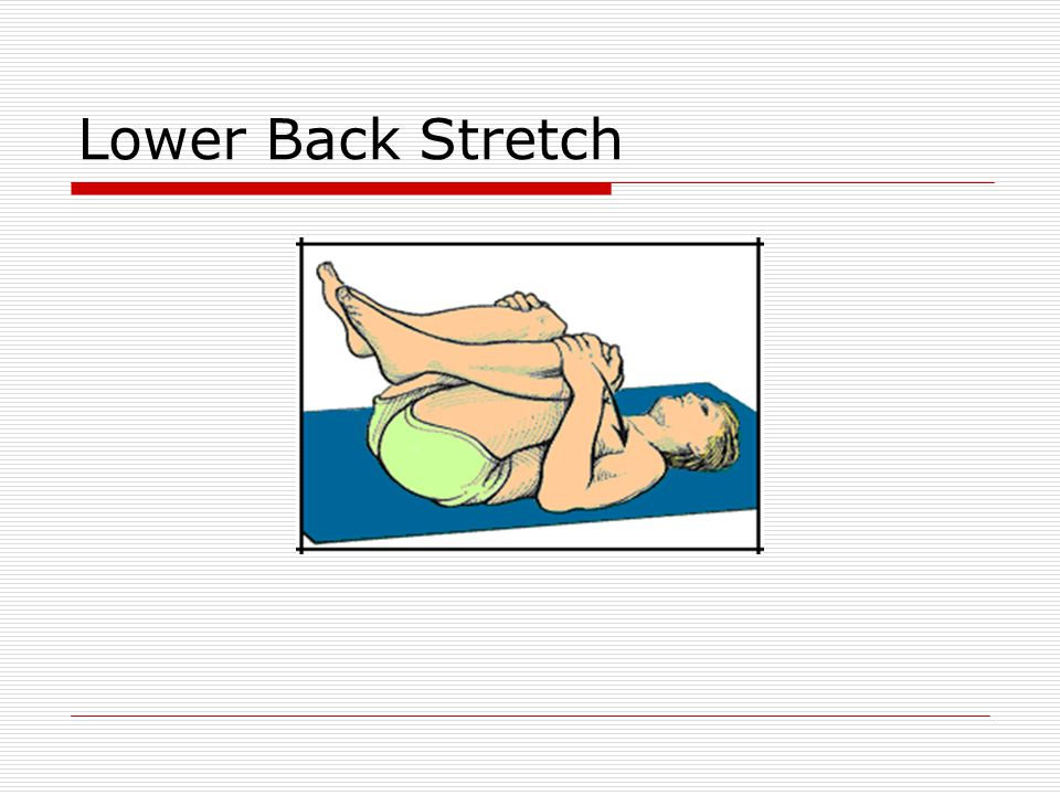 Lower Back Stretch