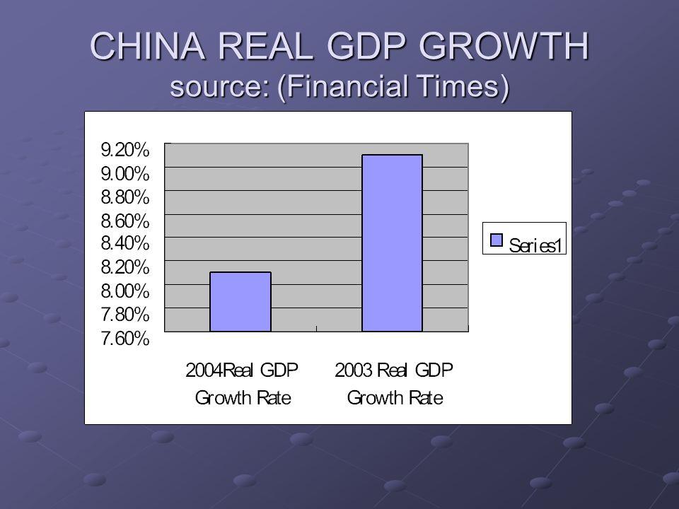 CHINA EXPORTS AND IMPORTS CHINA EXPORT: $ 529.3 billion( 2004).