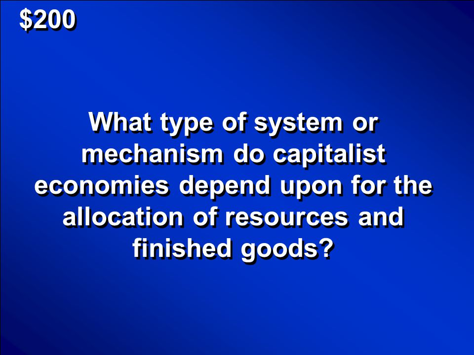 © Mark E. Damon - All Rights Reserved $100 What are economic decisions? Scores
