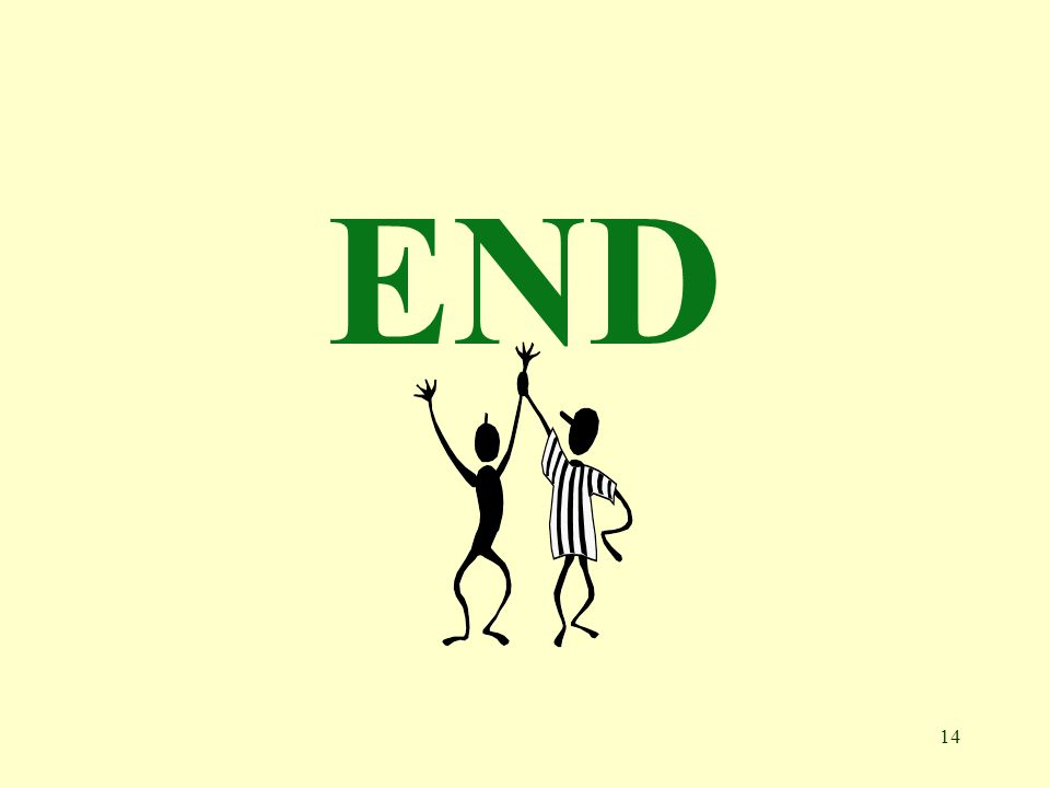 14 END