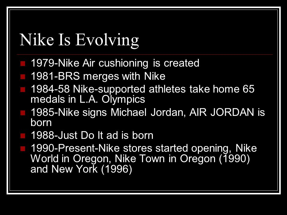 Who Else Is Nike.
