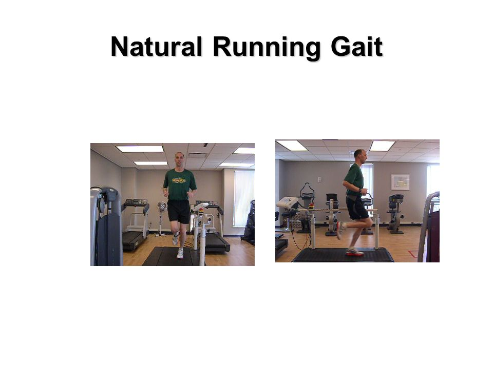 Natural Running Gait