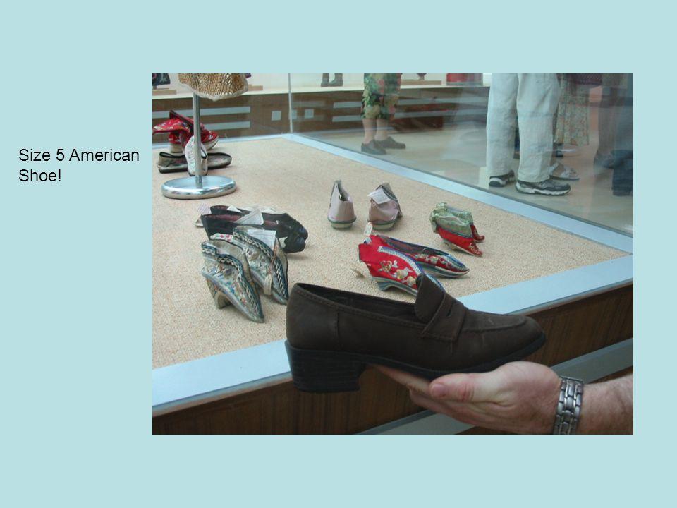 Size 5 American Shoe!