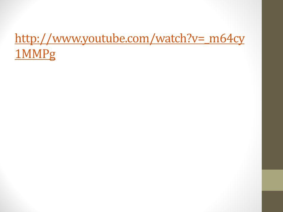 http://www.youtube.com/watch v=_m64cy 1MMPg