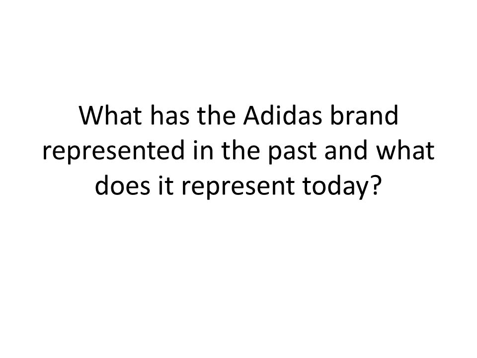 Regional Footwear/Apparel Markets RegionSizeMarket Growth Rate Adidas SalesAdidas Sales Growth Adidas Position North America $42.5 billion3%$2.9 billion5%#2 behind Nike EuropeN/A2% (20% Eastern Europe) $4.3 billion8%, mainly in Russia #1 Asia3.2 billion people 13% (South and Central) 15% (China) $2.2 billion17%#1 Latin America N/A $657 million39%#2 behind Nike Analysis – Adidas is strong in several developing markets (Eastern Europe, China) but its focus and acquisitions have been geared towards overtaking Nike in the large, but slow growth North America market.